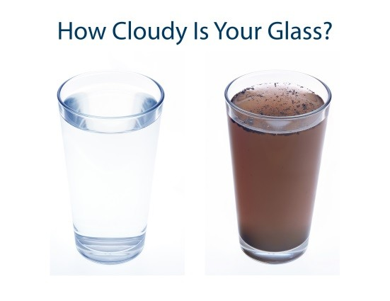 cloudy glass and emotional intelligence